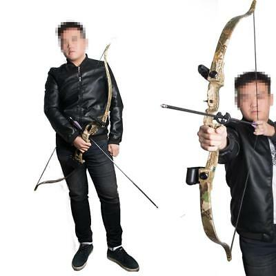 IRQ Archery Camo Take Down Recurve Bow Shooting Games Practice Training Youth