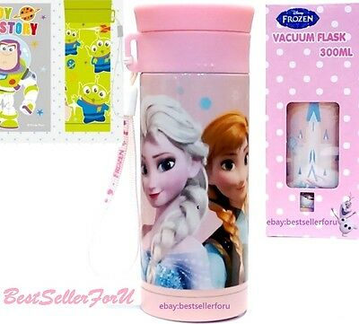 Disney Stainless Steel Vacuum Flask Insulated Thermos Water Bottle Travel Mug