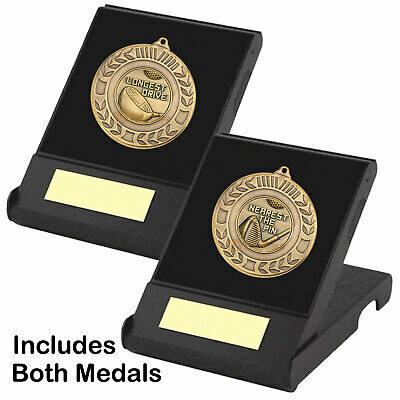 Longest Drive &  Nearest the Pin Medals in Presentation Boxes, Golf Trophy Award