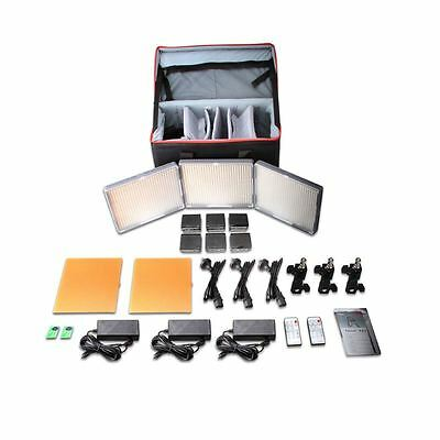 Aputure Amaran HR672KIT-SSC CRI95+ 672 LED Lampen Video leuchtet 2x672S + 1x672C