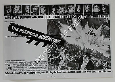 """THE POSEIDON ADVENTURE"" (1972, directed by Ronald Neame)"