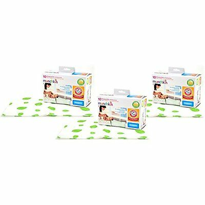Munchkin Arm & Hammer Disposable Changing Pad - 30 Pack, New, Free Shipping