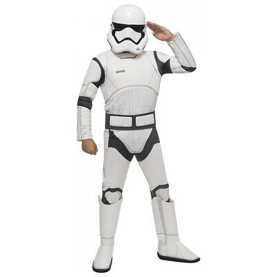 Stormtrooper Costume Kids Star Wars Halloween Fancy Dress