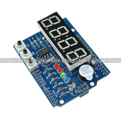 RTC TM1636 DS1307 Real Time Clock Shield Digital tube Module Thermal Arduio Uno