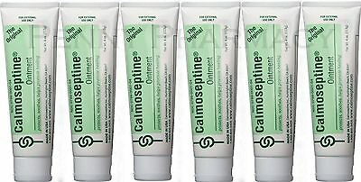 Calmoseptine Ointment Tube  4oz ( 6 Pack ) PRIORITY SHIP!
