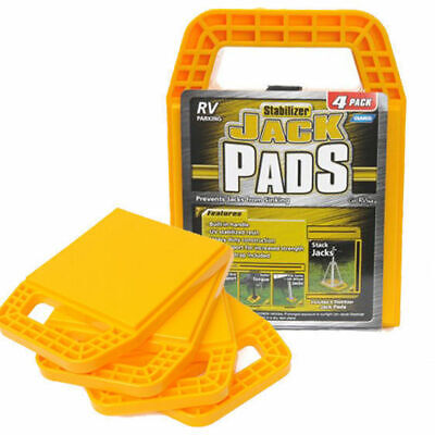 Jack Pads RV Caravan Levels Stabilizer Parts Accessories New Camco