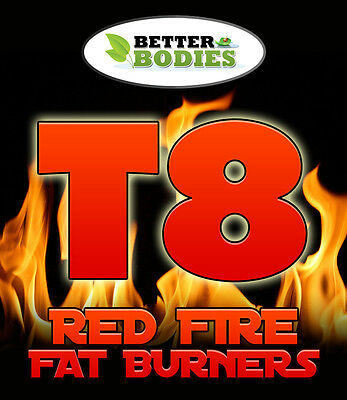 T8 Fat Burners Diet Weight Loss Slimming Pills Tablets Strongest Legal Diet Aid