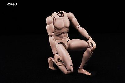 1/6 2014 NEW Version Highly Cost-Effective Edge Male Body MX02-A Caucasian Skin