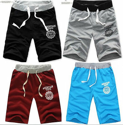 Men's Cotton Shorts Pants Gym Trousers Sport Jogging Trousers Casual HOT 2016