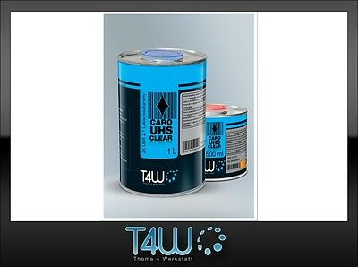 T4W CARO 2:1 Clear coat 2K UHS Ultra high solid hardener EXPRESS / 1.5L SET