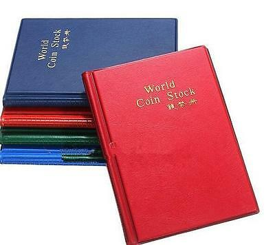 NEW 120 Coin Holders Collection Storage Penny Money Pocket Album Book Collecting
