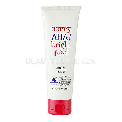 [ETUDE HOUSE] Berry AHA Bright Peel Mild Gel 120ml / Korea cosemtic