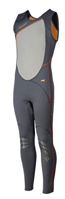 Crewsaver Phase 2 Long John 0.7mm Adult Grey/Orange 6903