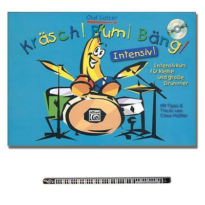 ☑ Kräsch Bum Bäng Intensiv - CD, MusikBleistift - ALF20166G - 9783933136978