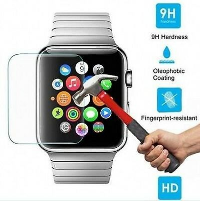 38mm 42mm Premium Tempered Glass Film Screen Protector For iWatch Apple Watch