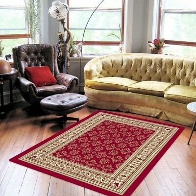 New Traditional Persian Style Rug Red Rug Polypropylene Fibre - 160 X 230 cm