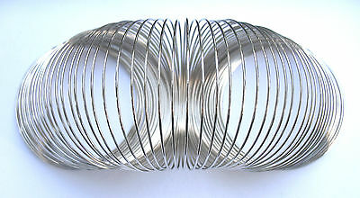 12 COILS of MEMORY WIRE 60mm