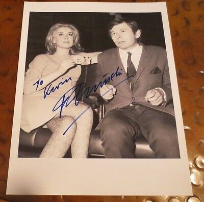 Roman Polanski director signed autographed photo married Sharon Tate Repulsion