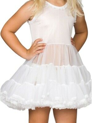 Girls Infant Full Slip Bouffant Petticoat Crinoline Ruffles Layers 6M 12M 18M 24