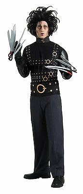 Halloween Lifesize EDWARD SCISSORHANDS STANDARD ADULT MEN COSTUME Haunted House