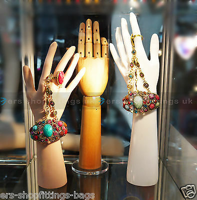 Hand Display Mannequin Jewelry Watch Ring Gloves Stand Holder Model UK Stock