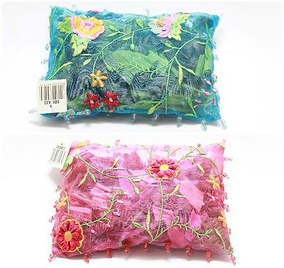 Embroided & Beaded Organza Bag Scented Potpourri Home Fragrance
