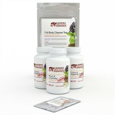 Dherbs 10 Day Full Body Cleanse Express