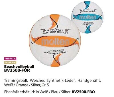 Molten Beachvolleyball BV2500 Volleyball Training Beach Strand Garten Hobby NEU!