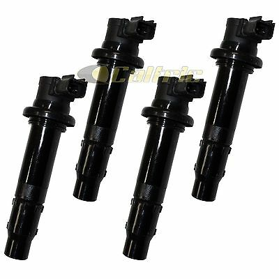 Set Of 4 Ignition Coils Fits Yamaha Yzf-R1 Yzfr1 Yzf R1 2007-2008