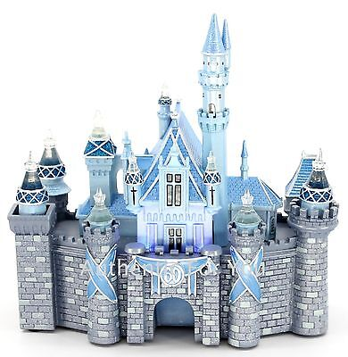 NEW Disneyland 60th Diamond Anniversary Sleeping Beauty Castle Light-Up Figure