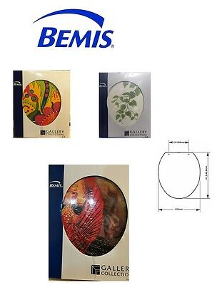 Bemis Moulded Wood Novelty Toilet Seat With Adjustable Chrome Plated Hinges*