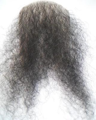 Merkin Pubic Hair Black Lacey Costume Wig Bald Pussy-Patch