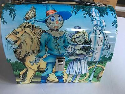 Wizard Of Oz Dome Metal Lunchbox Brand New  Very Classic and Cool