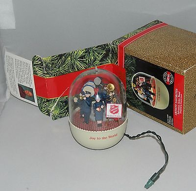 1991 HALLMARK Keepsake Ornament SALVATION ARMY BAND - as is - unknown if works