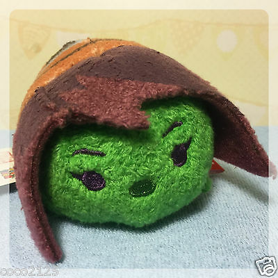 "Disney MARVEL GUARDIANS OF THE GALAXY GAMORA Mini 3.5""  Tsum Tsum Plush NEW!"