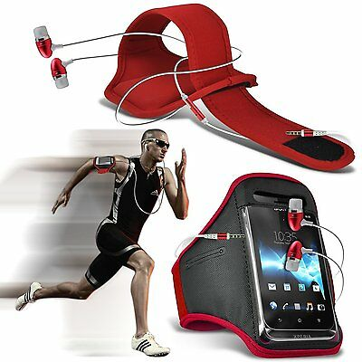 Running Fitness Sports Armband Case & Handsfree For Samsung Galaxy S7