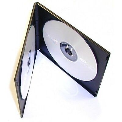 50 ESTUCHES COMPACTOS SLIM DOBLES - 2 DVD - 7 mm - CD BLURAY - Tamaño CAJA CD