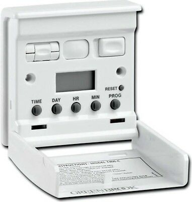 Greenbrook T40S-C 7 Day Electronic Programmable Timer Wall Security Switch