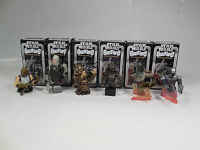 Complete Set Gentle Giant Star Wars Bust-Ups Series 3 Bounty Hunters Boba Fett