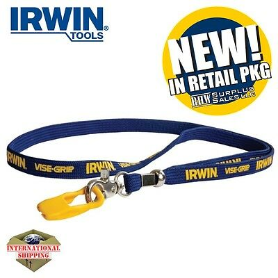 IRWIN Tools 1902422 VISE-GRIP Pliers Lanyard with Clip