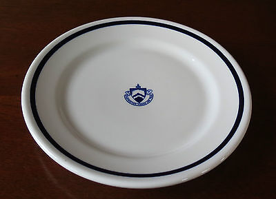 Hill School Pottstown PA Dining Hall China Luncheon Plate(s)