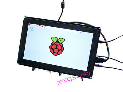 10.1 inch HDMI 1024*600 Touch Screen LCD Case for Raspberry Pi 2 3 Model B B+ A+