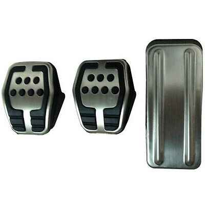 Stainless Steel car pedal Pads Cover for MT Maual Ford Focus 2 focus 3 Escape