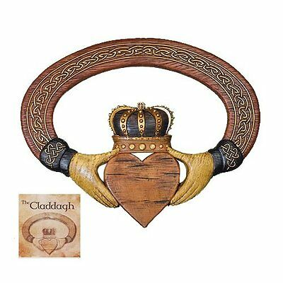 Abbey Press Claddagh Wall Hanging and Card - 54999T, New, Free Shipping