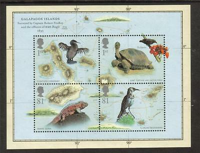 Gb Mnh 2009 Ms2904 Birth Bicentenary Of Charles Darwin Minisheet