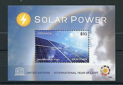 Grenada 2015 MNH UNESCO International Year of Light Solar Power 1v S/S