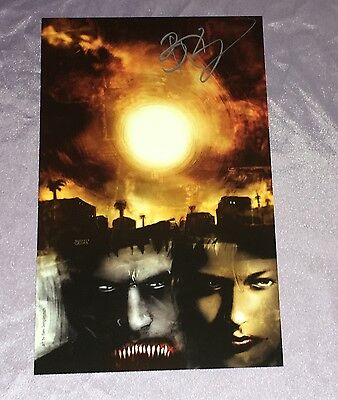 30 Days Of Nightvampire Art Pagedouble Sidedhand Signed By Ben