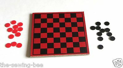 Rainy Day Checkers Set # 1928 Made for Skipper Doll Checker Board and Checkers