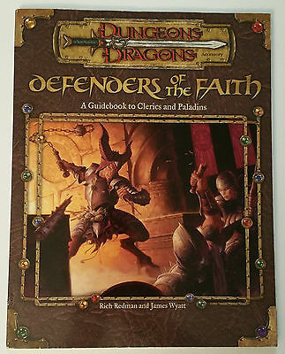 Dungeons&Dragons Defenders of The Faith WTC11840 SC