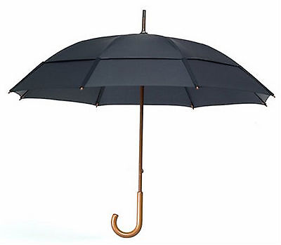 "GustBuster Doorman 68"" Wind Proof Number One Umbrella Rain Free Safe Brand New"